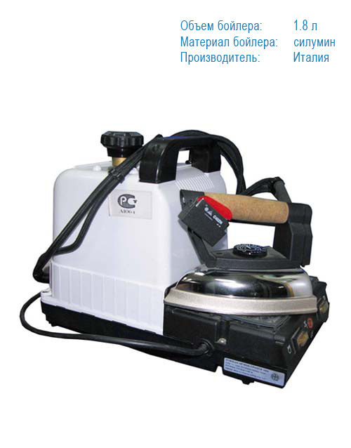 Парогенератор с утюгом для дома VTO 1.8 Italy